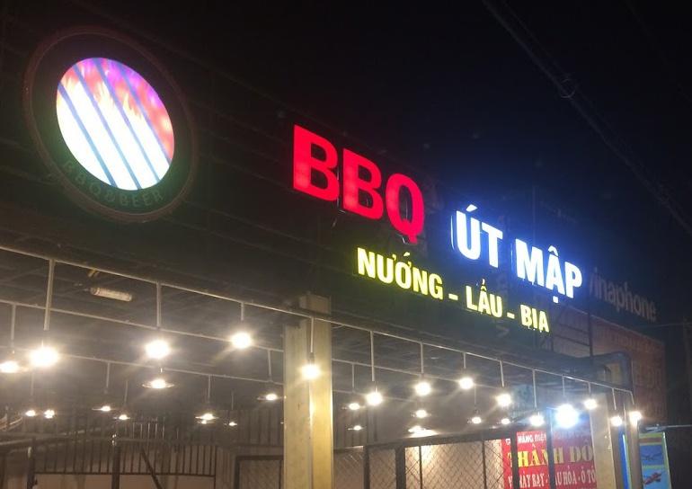 Bảng led quán nướng BBQ